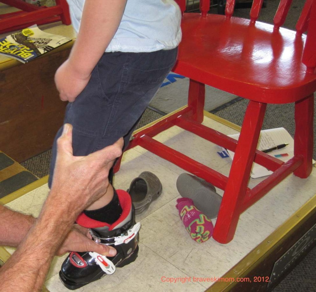 Fitting Kids Skis And Ski Boots The Brave Ski Mom