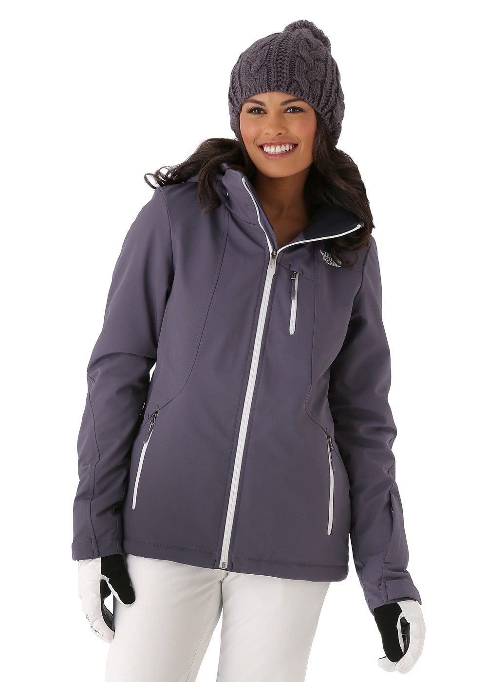 The North Face Women S Komper Jacket In Greystone Blue
